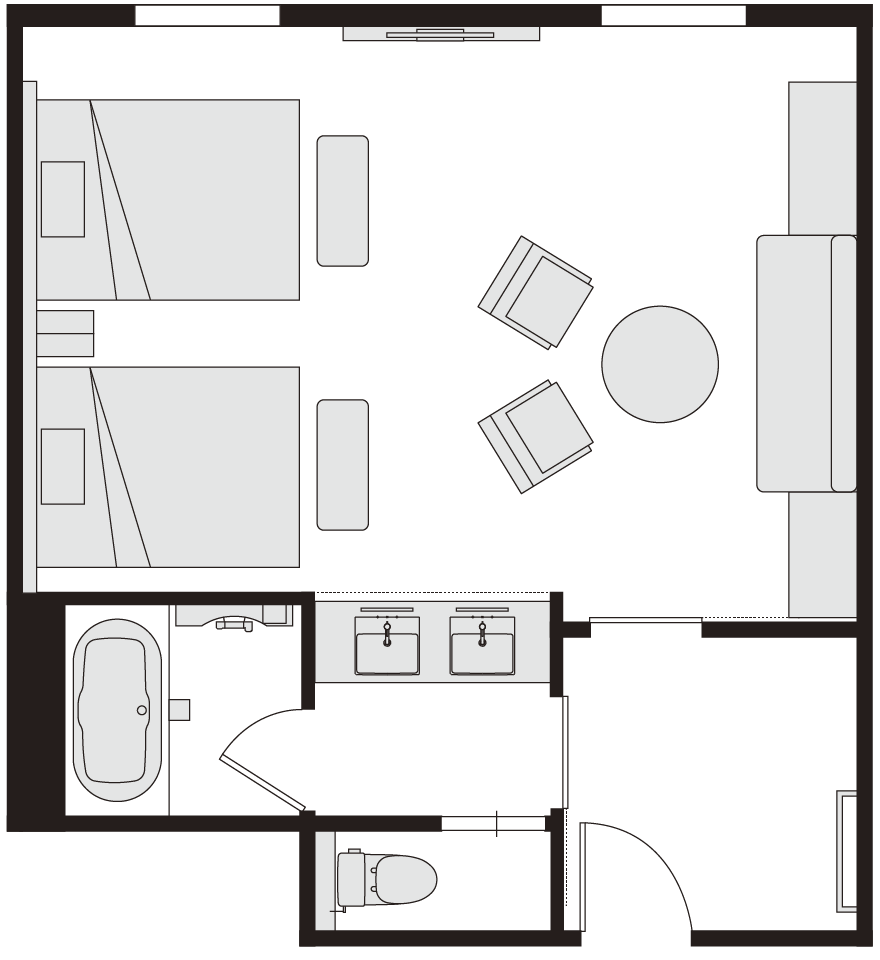 ファミリールーム 図面